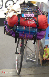 """Aničky """"cestovní speciál"""", již řádně projetý."""